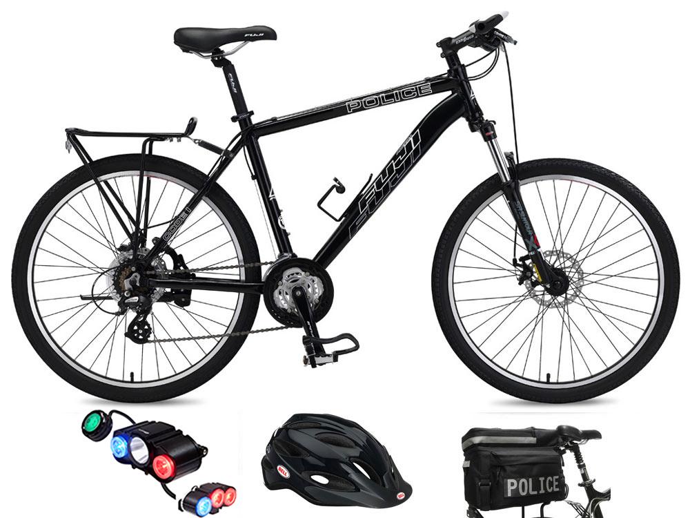 2f4bc1456e9 Fuji Code 1 Max Police Bike and Accessory Combo