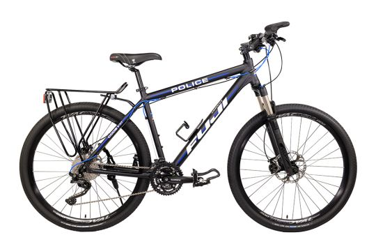 Fuji Code 3-XT - Thin Blue Line Police Bike