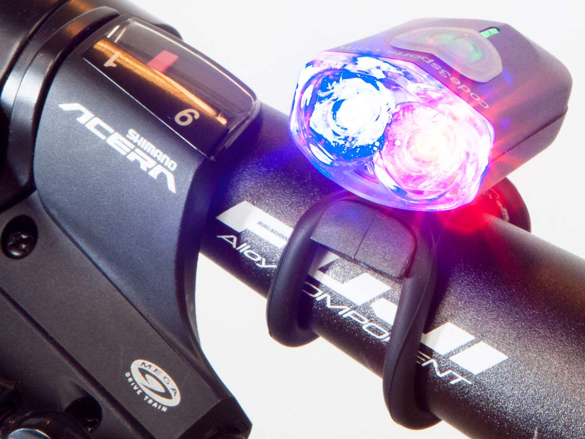 C3sports Mini Pursuit 100 Police Bike Light Daylight