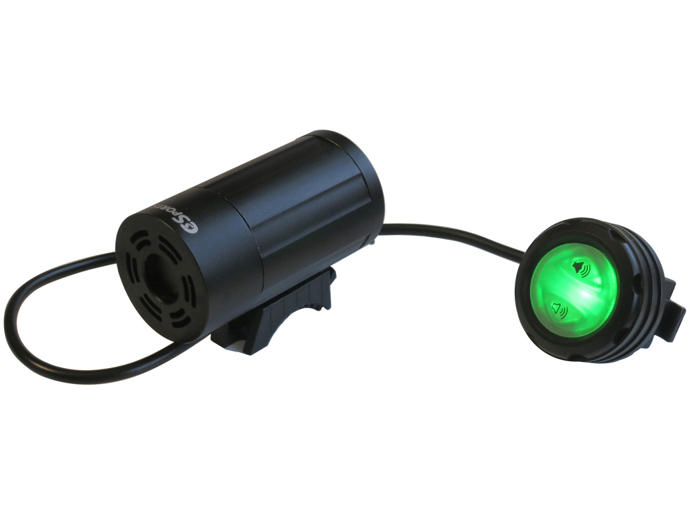 C3sports Two Tone Compact Police Bicycle Siren Police