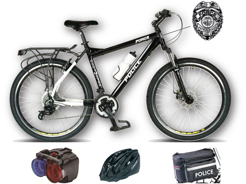 Force Perimeter Le Police Bike With