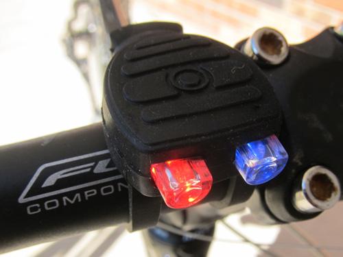 Mini Strobe Police Bike Light Combo