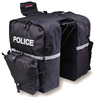 Bushwhacker Police Bike Pannier Set