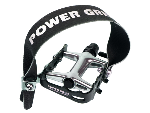 Power Grips High Performance Bike Pedals With Straps