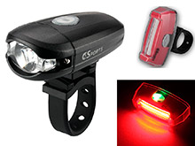 c3sports micro-300 headlight and solar flare taillight combo