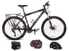 fuji code 3-xt police mountain bike basic patrol combo